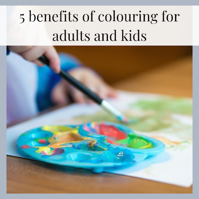5 benefits of colouring for adults and kids