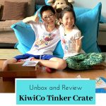 KiwiCo Tinker Crate - unbox and review