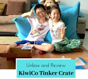 KiwiCo Tinker Crate – unbox and review