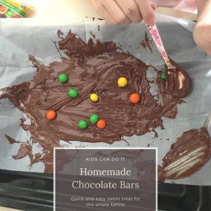 [How To] Homemade Chocolate Bars