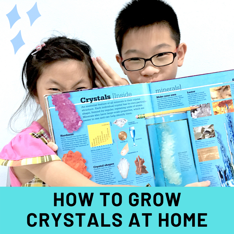 How to grow crystals at home