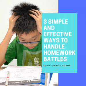 3 simple and effective ways to beat homework battles